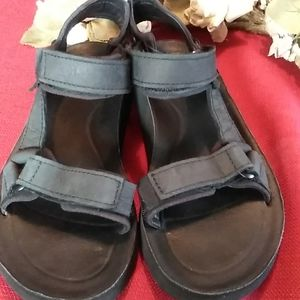 Teva sandals leather